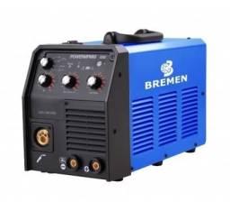 Inversor 3 em 1 Solda 200Ah/220V Monofasica Mig/Mma/Tig Bremen