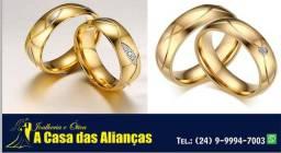 Lindo e Modernos modelos de alianças Ouro 18 kilates _ Frete Grátis
