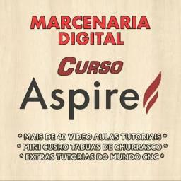 Curso Aspire Pró Vectric + Extras - Videos Aulas Tutoriais