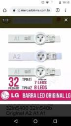 "Barra de Leds ( Tv LG 32"") 02 Conjuntos"