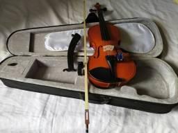 Violino 4/4 ( +Espaleira e afinador)