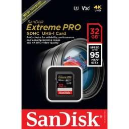 Cartão de Memória SDHC 32 GB