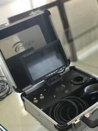 Vídeo demartoscopio com monitor portátil