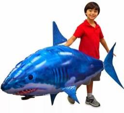Balão Tubarão Dirigível com Controle Remoto