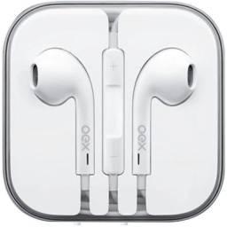 Fone de Ouvido Intra-Auricular Oex Fn204 Colormood Branco - Novo