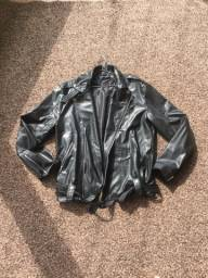 Jaqueta/casaco de couro sintético