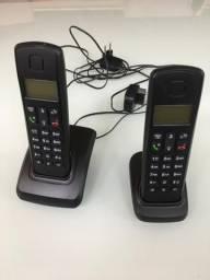 Telefone sem fio + ramal