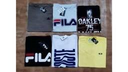 Camisas T-Shirt básicas masculino