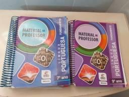 2 Livros Material Do Professor - Língua Portuguesa