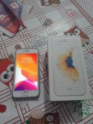 Vendo IPhone 6s 64GB tudo ok icloud limpo So pega e usa