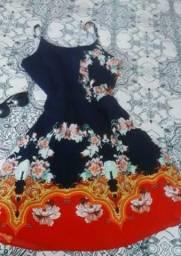 Vestido Florido (LEIA A DESCRIÇÃO)