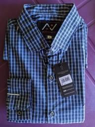 Camisa social microestampas