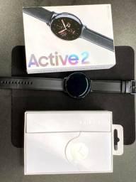 Galaxy Watch Active 2 LTE 44mm Preto - Modelo Nacional - Aceita Operadoras Brasil