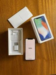 IPhone X 256G, Silver