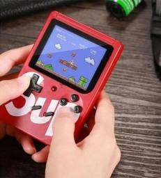 Super Mini Game Portátil Com 400 Jogos Na Memória