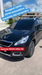 Peugeot 2008 automático 2018 - 2018