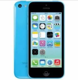 Última Unidade Foneshopp iPhone 5C Azul 16GB, Semi Novo, NF e Garantia, Somos Loja