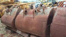 Concha Escavadeira Volvo 460 - 2 un. - #7851