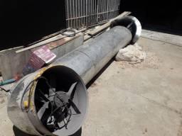 Coifa com estufa3 metros negociavel