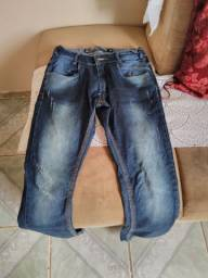 calça masculina jeans usada