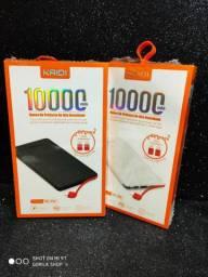 Carregador Portátil 10.000amp V8/Tipo-C/IPhone R$ 65,00
