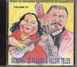 Cd - Mocinha De Passira E Valdir Teles - Vol. 01