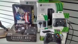 Console Super Slim Xbox360 Original/ 2 jogos / Garantia /ACCartão /JCGames comprar usado  Vila Velha