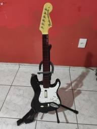 Guitarra sem fio PlayStation usada