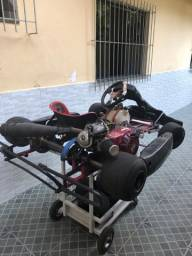 Kart Chassi Birel motor Honda 18 HP
