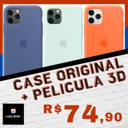 Capa Original + Pelicula 3D Iphones - Volken Imports