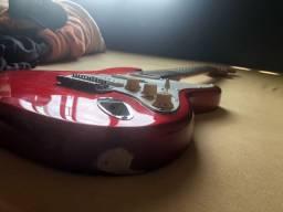 Fender Squier com modificações