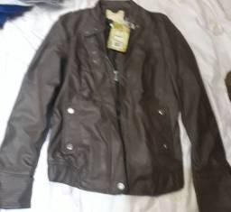 Jaquetas couro sintético
