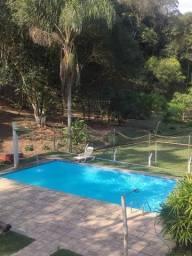 Chácara Com Piscina, Cachoeira, Campo De Futebol,