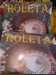 Jogo de Roleta novo embalada. $30,00 Reais