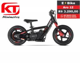 Bike elétrica, MXF E?Bike, crianças, brinquedo, minimoto, trilha