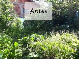 Jardinagem em geral e limpeza de terrenos