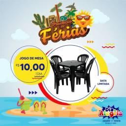 Mesas e Cadeiras Jogos