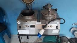 Máquina de fritar frango