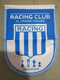 Flâmula do Racing Club da Argentina Original Nova - Raridade