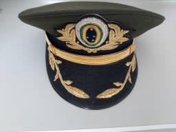 Quepe do exército- Verde com símbolo