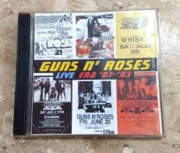 CD Guns ?N Roses Live Era 87-93 (Duplo)