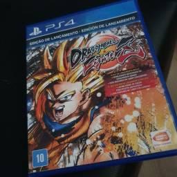 Título do anúncio: Dragon Ball Fighter Z PS4
