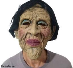 Título do anúncio: Máscara Realista de de Látex - Senhora, Velha Doméstica - Nova, sem qualquer uso!