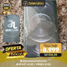 IPHONE 12 PRO MAX, 256GB, LACRADO, OFERTA AGORA