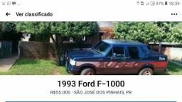 Título do anúncio: Ford F1000 Tropical