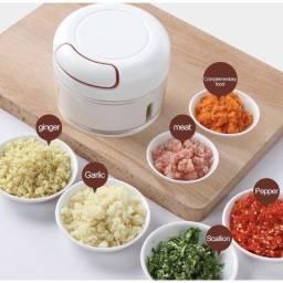 Mini Processador Triturador de Alimento Manual Utensílio Cozinha