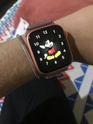 Relógio inteligente- Smartwatch 13 plus rose