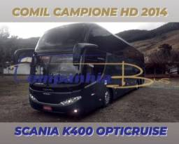Título do anúncio: Comil Campione HD LD 2014 Scania K400 opticruise