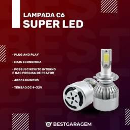 Lâmpada Super Led C6