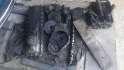Peças de motor de caminhão
